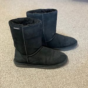 Black Womens Bearpaw Boots size 10